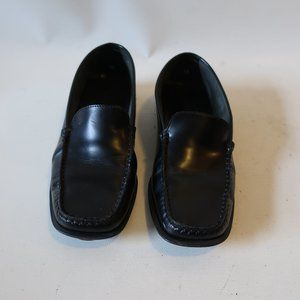 TOD'S LEATHER LOAFER DRIVING MOCCASIN 38 US/8 *